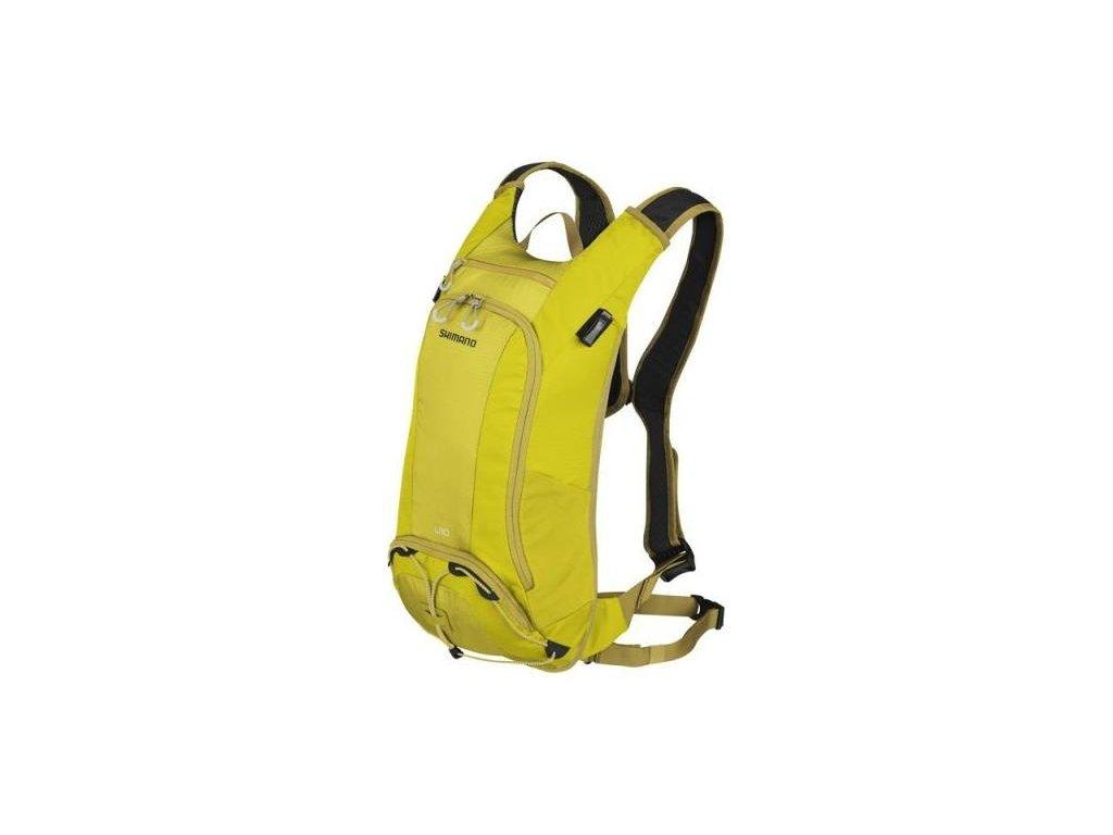 SHIMANO batoh UNZEN 10 s hydrapakem, teplá olivová
