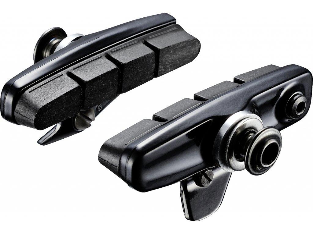 SHIMANO kazetový typ brzdových špalíků R55C4 (BR-9000), silniční, 1 pár