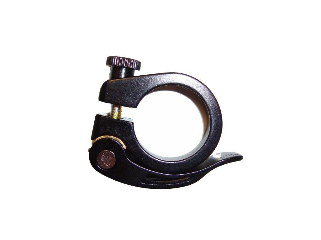 BP objímka na sedlovku s rychloupínákem, AL, 31,8mm, černá