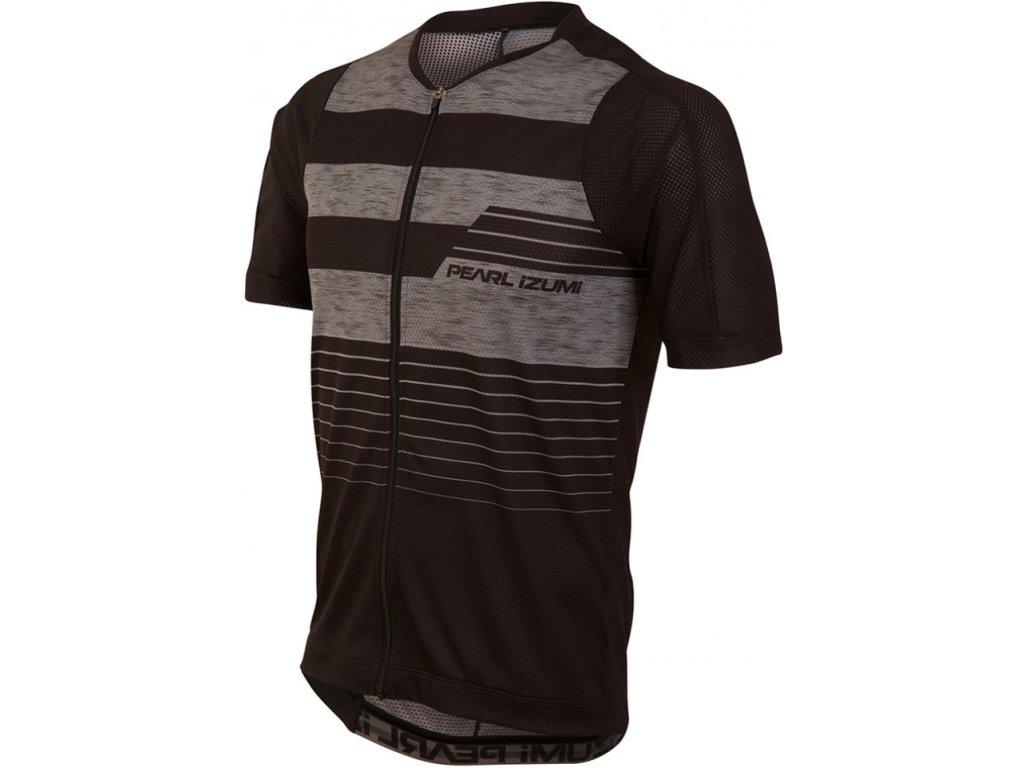 PEARL iZUMi MTB LTD dres, černá/SMOKED PEARL STRIPE, XL