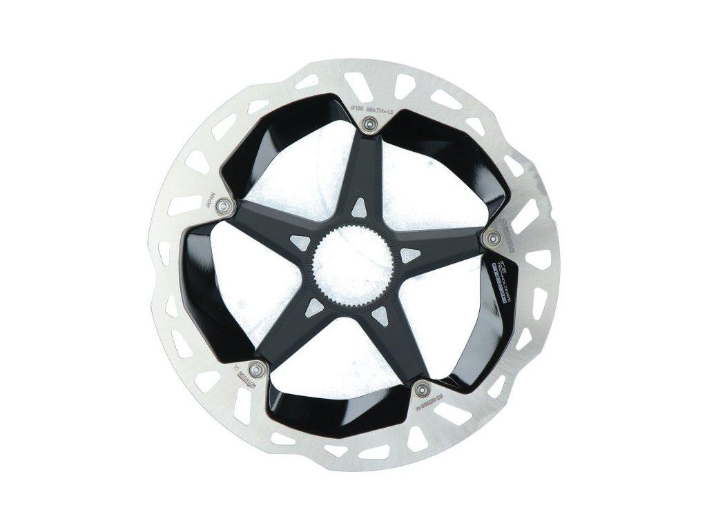 SHIMANO brzdový kotuč XTR RT-MT900 center lock 180 mm pro Ice tech bal