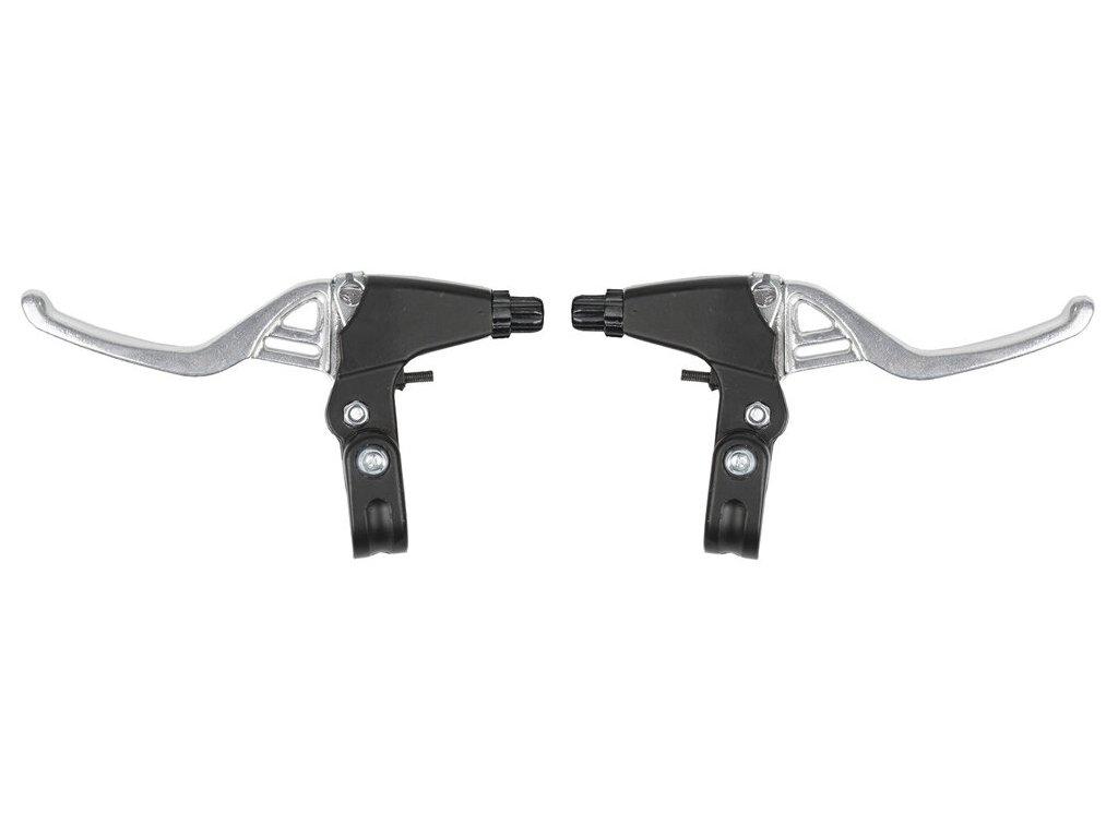 MAX1 brzdové páky V-brake i cantilever Alu stříbrné