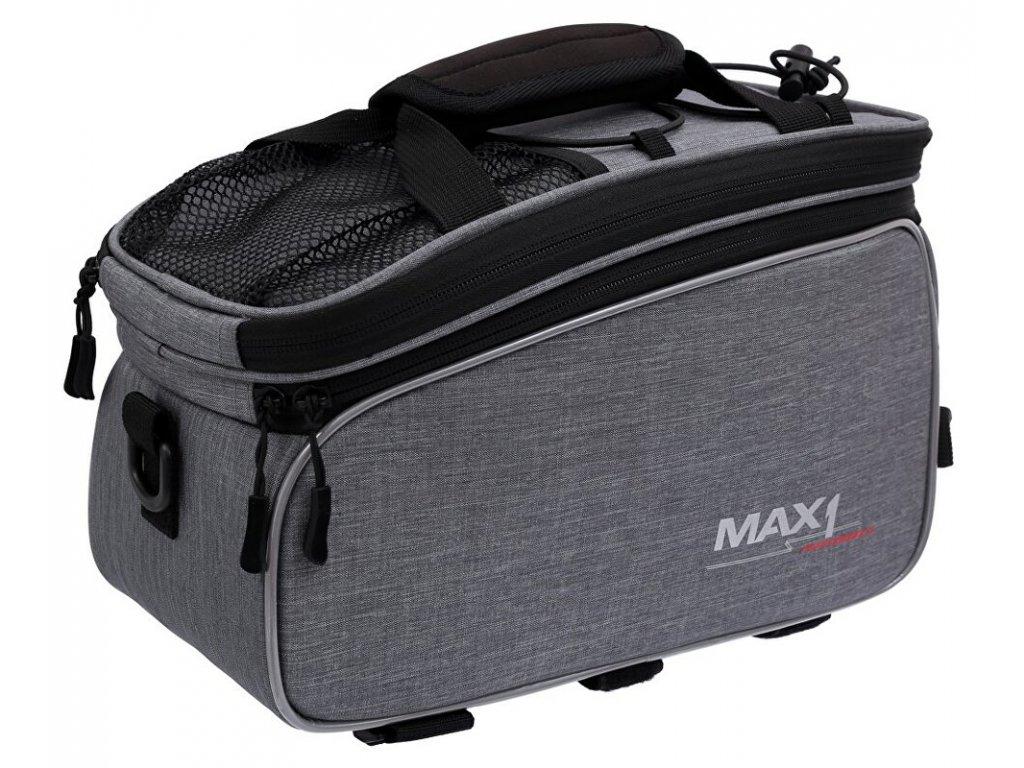 MAX1 Rackbag L šedá brašna