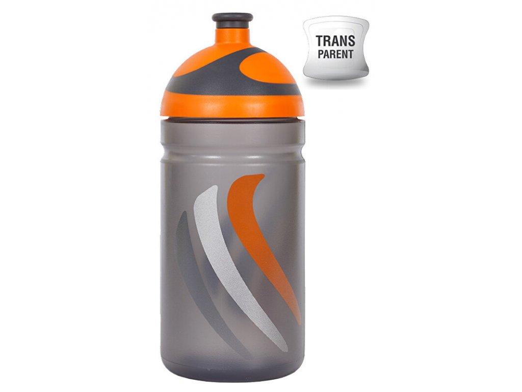 Zdravá lahev 0,5 l BIKE 2K19 oranžová