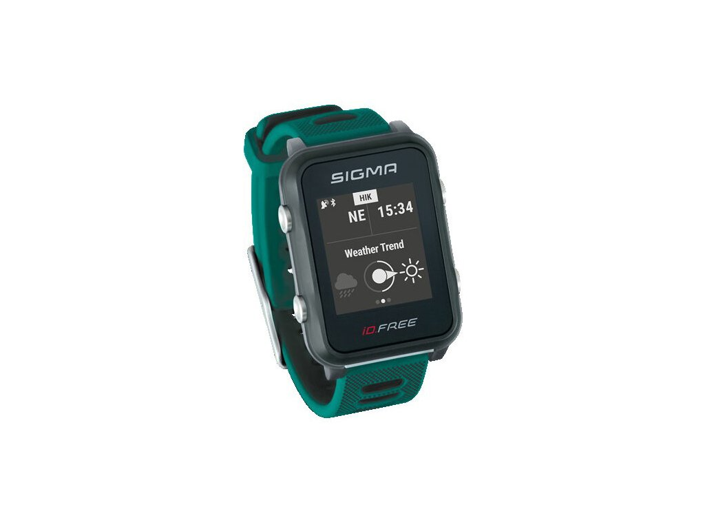 SIGMA iD.FREE chytré hodinky zelené