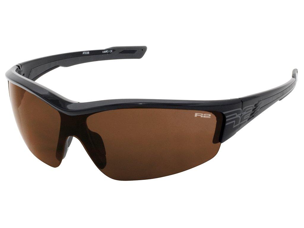 R2 WHEELLER černé AT038 Sportovní sluneční brýle