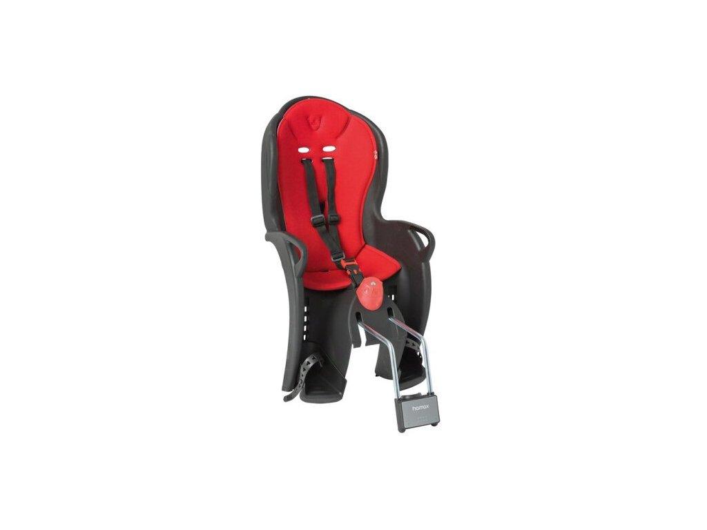 sedačka zadní HAMAX Sleepy černo/červená