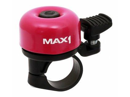 MAX1 zvonek mini fialový