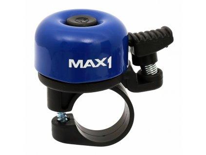 MAX1 zvonek mini tmavě modrý