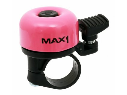 MAX1 zvonek mini růžový