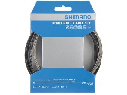 SHIMANO řadící set OT-SP41 lanko nerez ocel, bowden černý