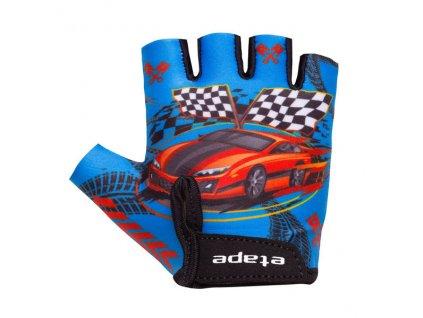 Etape – dětské rukavice TINY, modrá