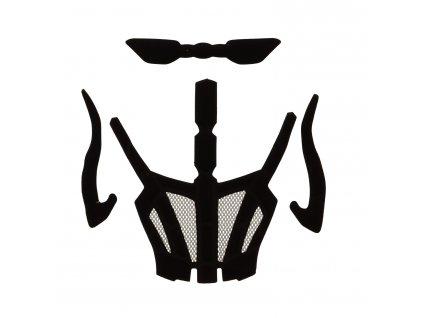 Náhradní vnitřní polstrování R2 cyklistické helmy ATH18