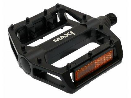 MAX1 BMX černé pedály