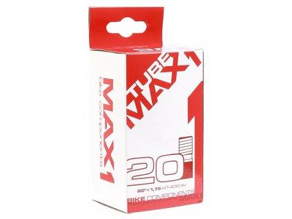 MAX1 duše 20×1,95/2,125 AV (47/52-406)