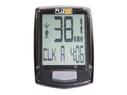 Echowell U9 cyklocomputer černý