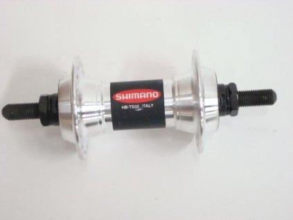 SHIMANO nába přední MTB-ost HB-TS30 pro ráfkovou brzdu 36 děr na matky