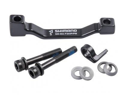 SHIMANO adaptér kot.brzd. MTB-ostatní SMMAF 203 mm PP typ přední bal