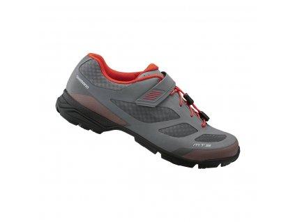 SHIMANO SH-MT501MG šedá turistická obuv