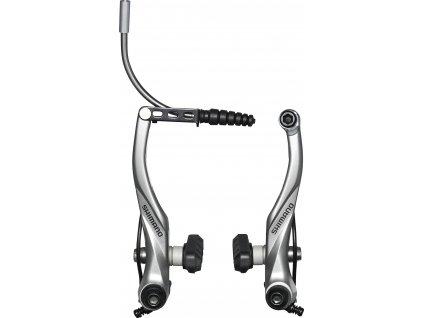 SHIMANO BR-T4000 V-brzda stříbrná