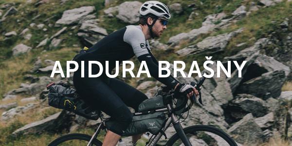 Apidura beznosičové brašny pro bikepacking
