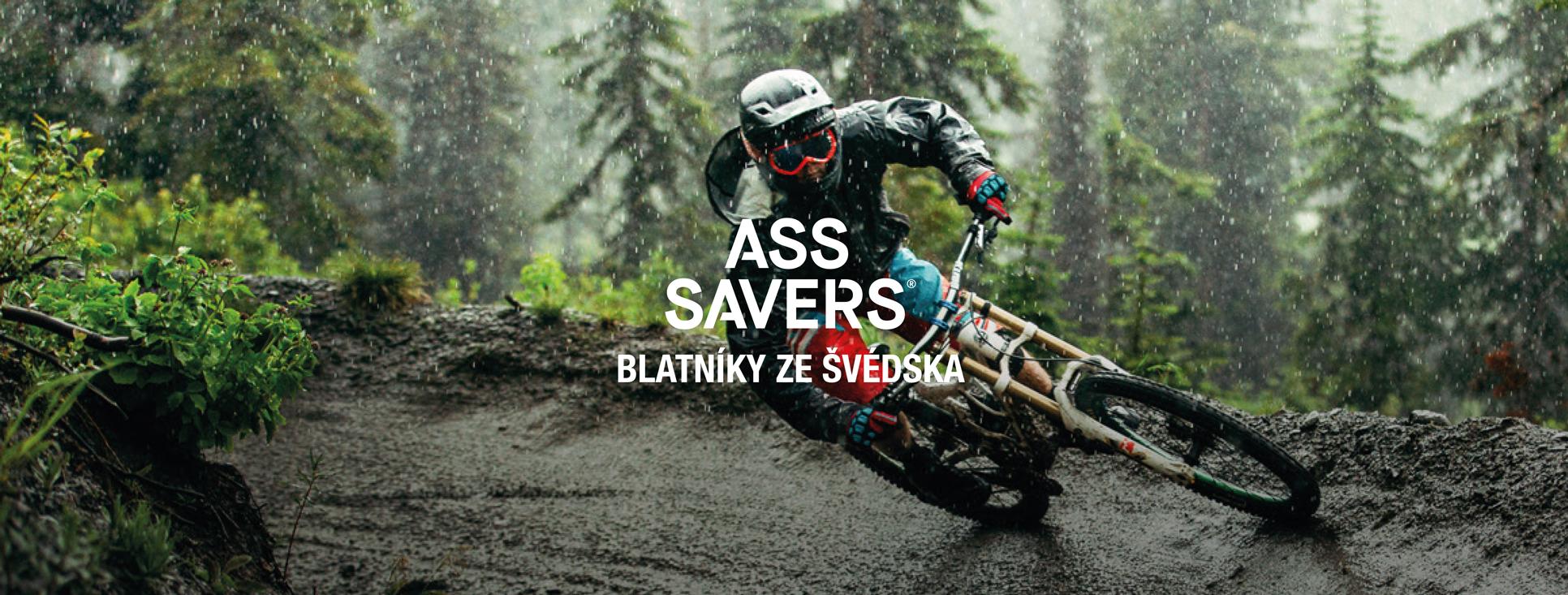 blatníky na kolo pod sedlo Ass Savers
