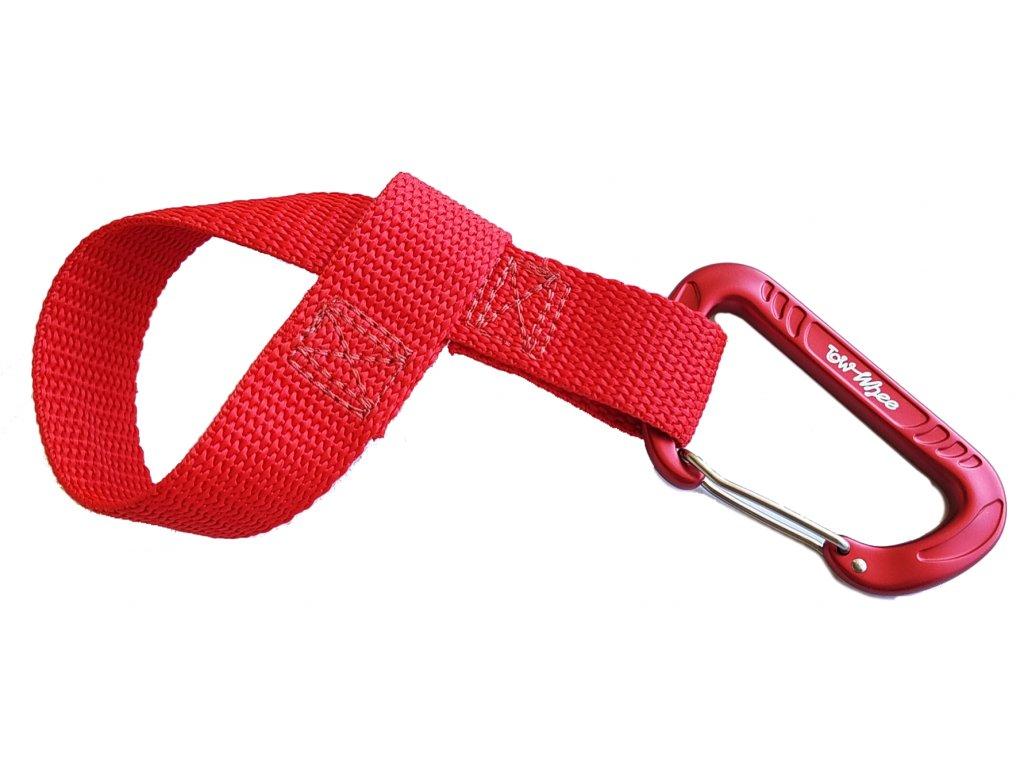Towhee quick loop s karabinou cervena