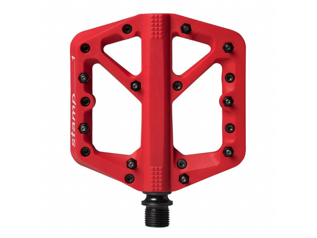 pedaly crankbrothers stamp 1 small red