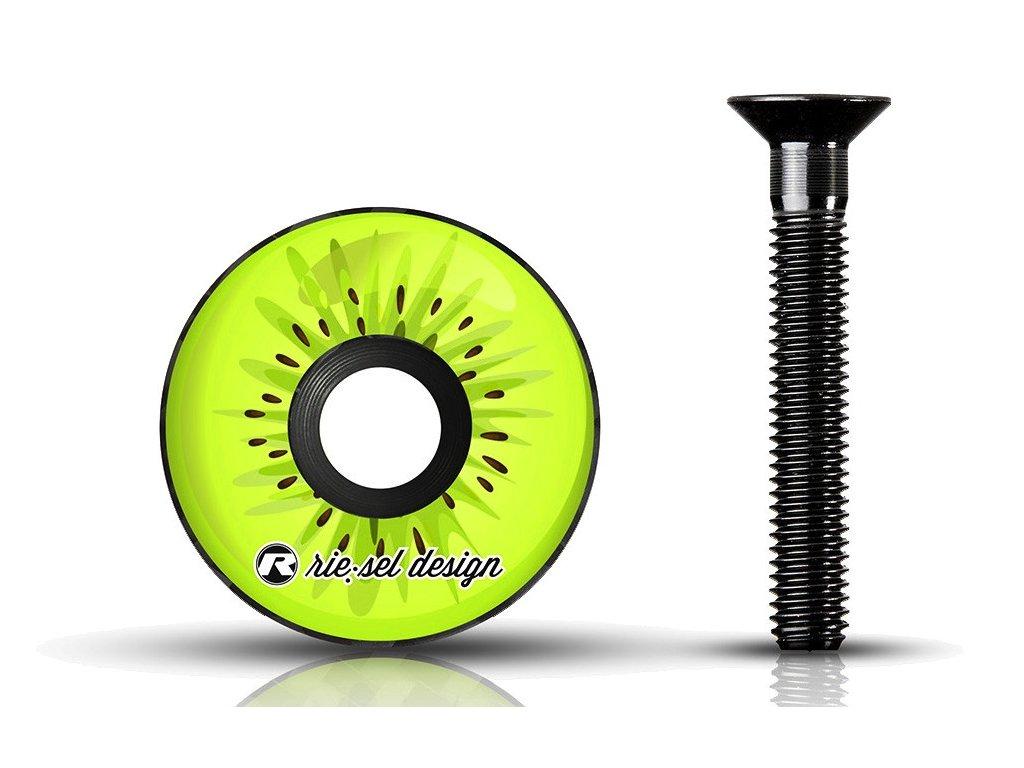 vicko hlavovky rie sel stem cap kiwi