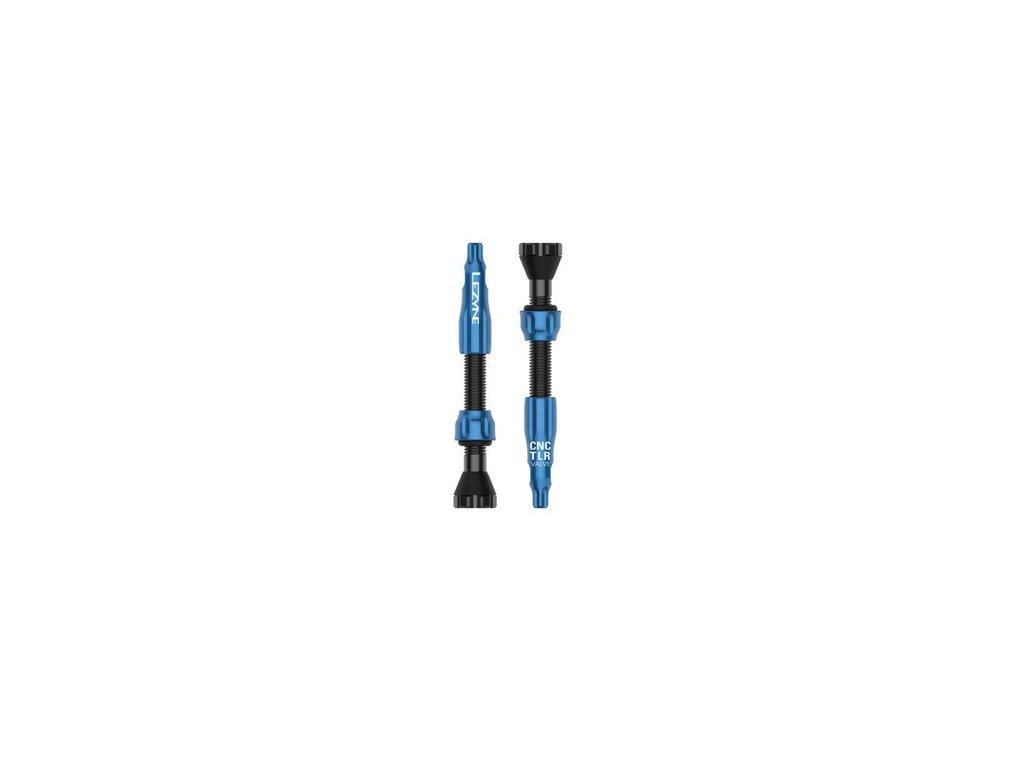 bezdusovy ventilek lezyne cnc tlr valve modra 44