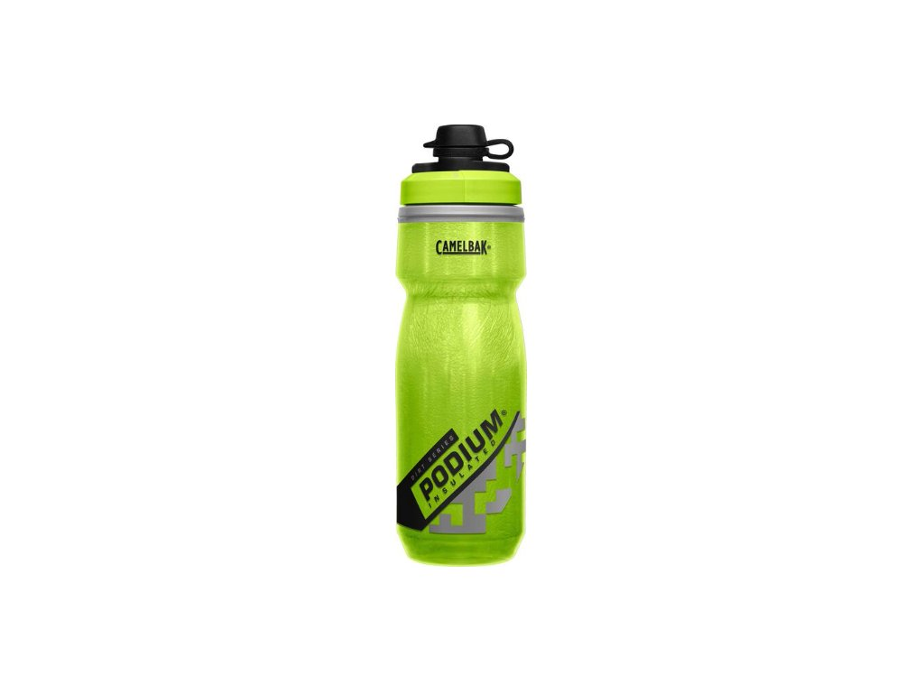 cyklisticka lahev camelbak podium dirt series chill 0 62l lime