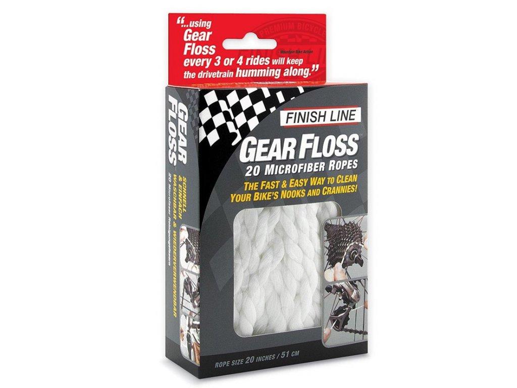 dentalni nit pro pastorky finish line gear floss 1
