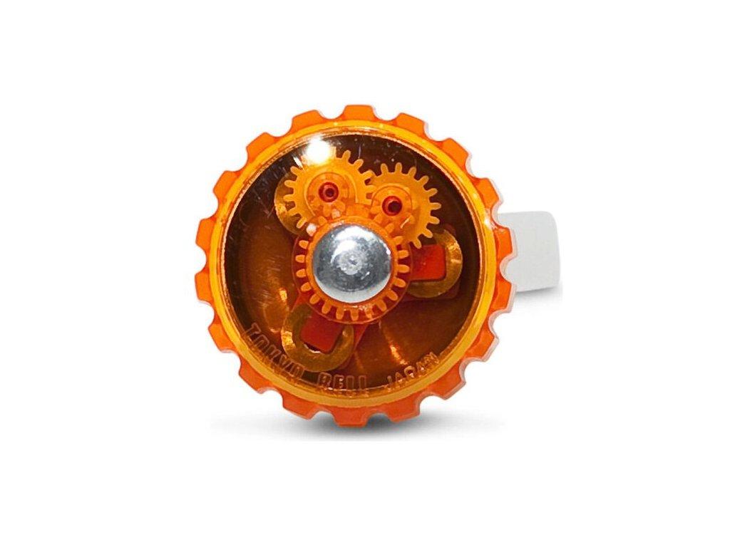 zvonek na kolo tokyobell oranzovy