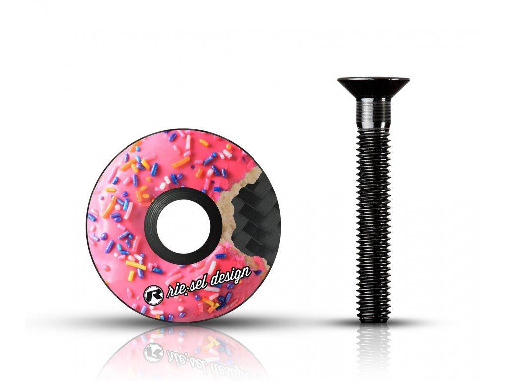 Vicko hlavovky Rie sel stem cap donut