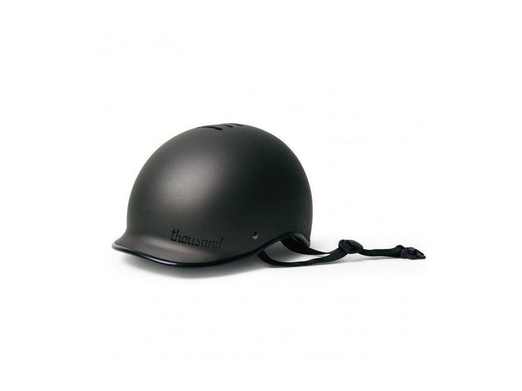 Designové helma na kolo Thousand Stealth Black