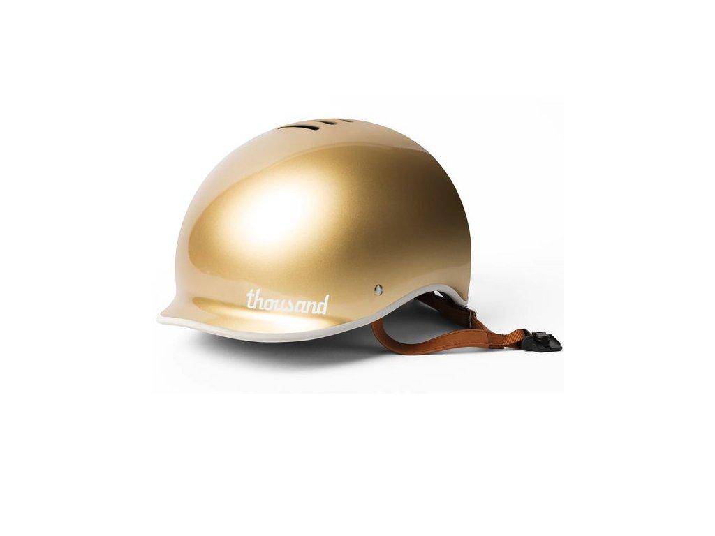 Designová helma Thousand Gold pro městská kola cyklodesign