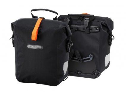 Cyklo brašny ORTLIEB Gravel-Pack, matná černá