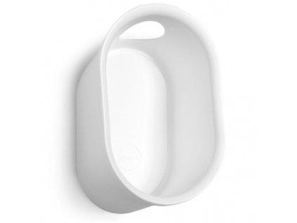 drzak na kolo do interiéru cycloc loop bílá