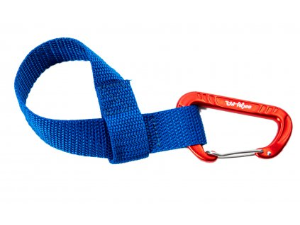 Towhee quick loop s karabinou modra