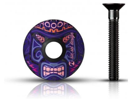 vicko hlavovky Riesel design stemcap maori