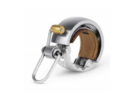zvonek na kolo oi luxe small silver