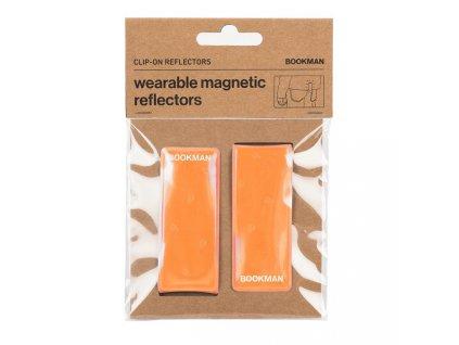 refleni paska bookman clip on reflectors orange