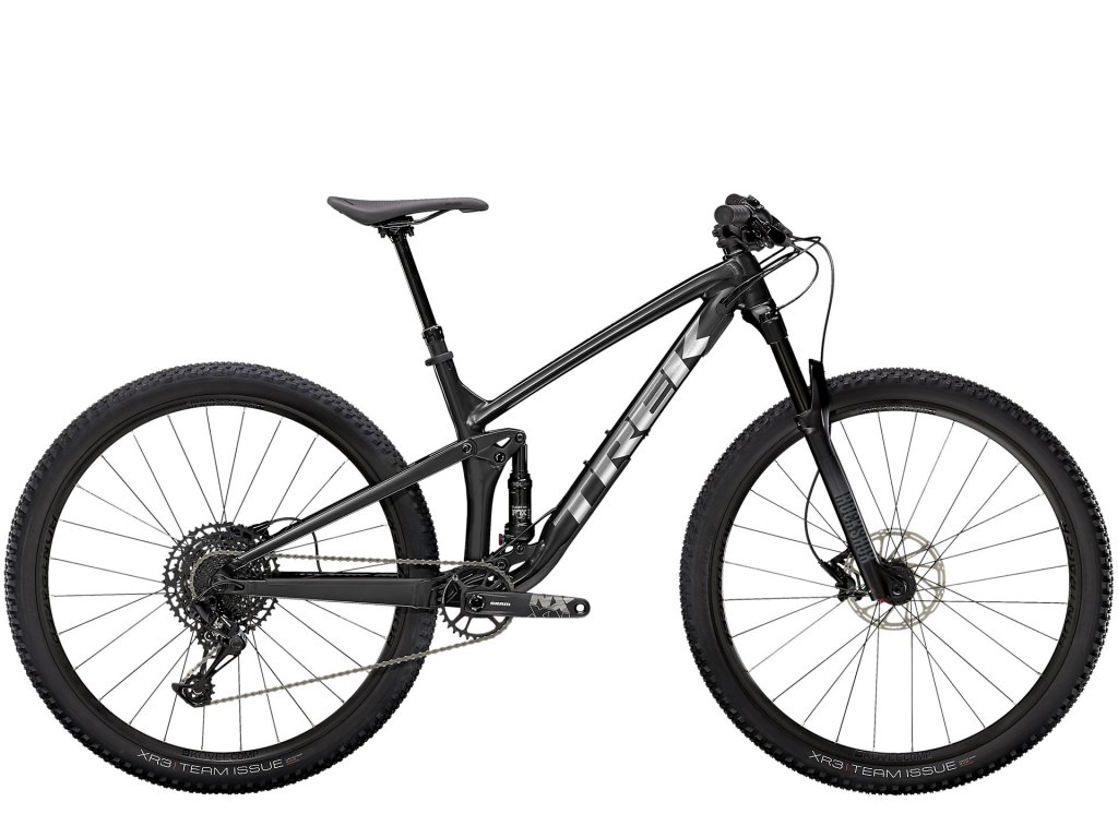 2021 TREK TOP FUEL 8 NX SATIN TREK BLACK