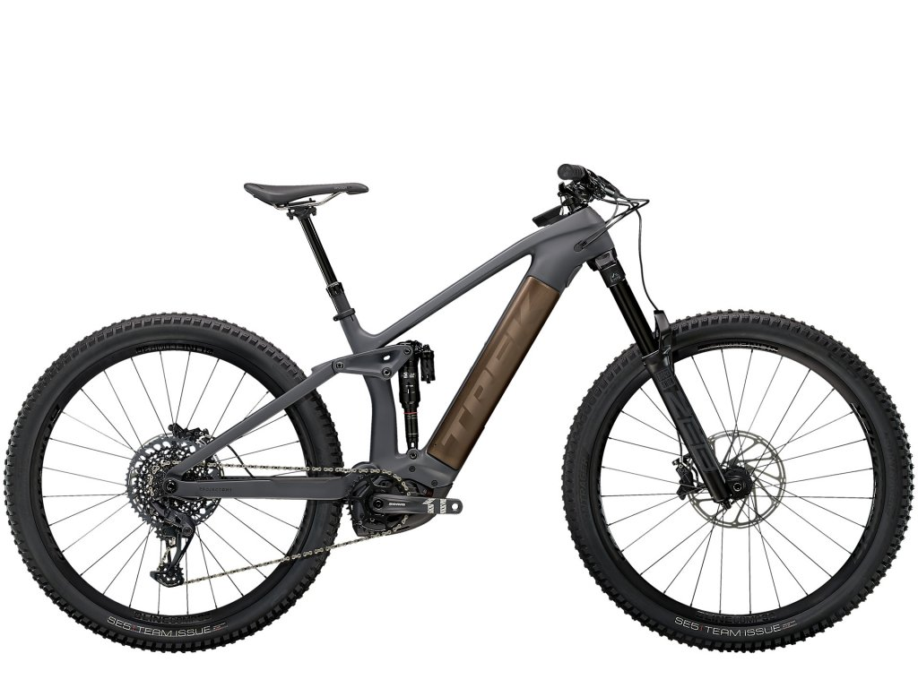 2021 TREK RAIL 9.8 GX SOLID CHARCOAL TO ROOT BEER ANO DECAL