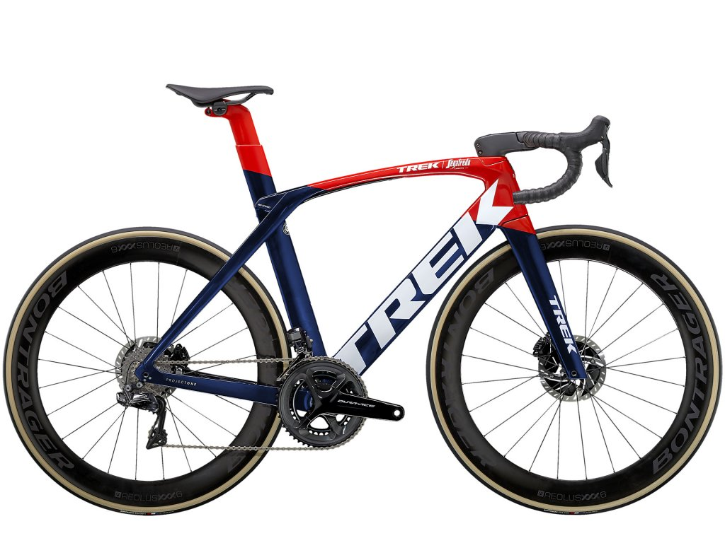 2021 TREK MADONE SLR 9 NAVY CARBON SMOKE/VIPER RED