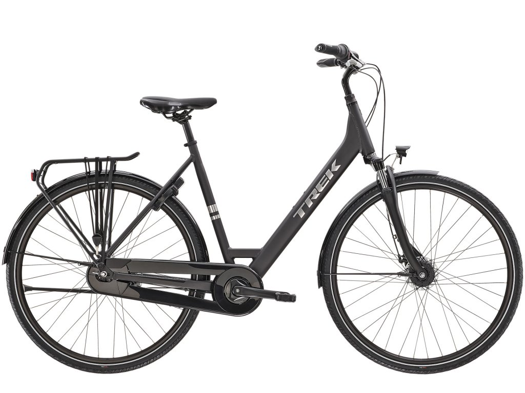 2021 TREK DISTRICT 1 EQUIPPED LOWSTEP MATTE DNISTER BLACK