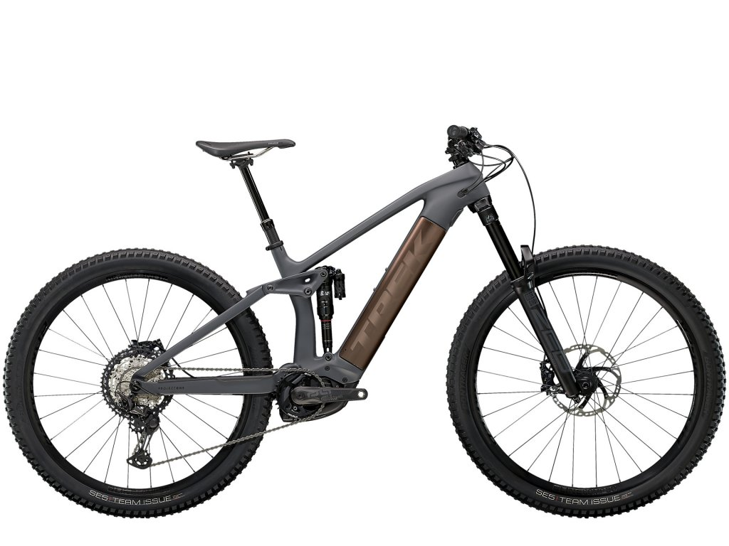 2021 TREK RAIL 9.8 XT SOLID CHARCOAL TO ROOT BEER ANO DECAL