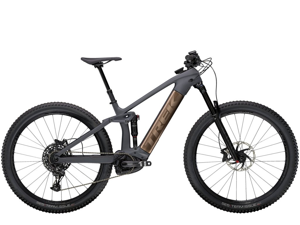 2021 TREK RAIL 9.7 NX SOLID CHARCOAL TO ROOT BEER ANO DECAL