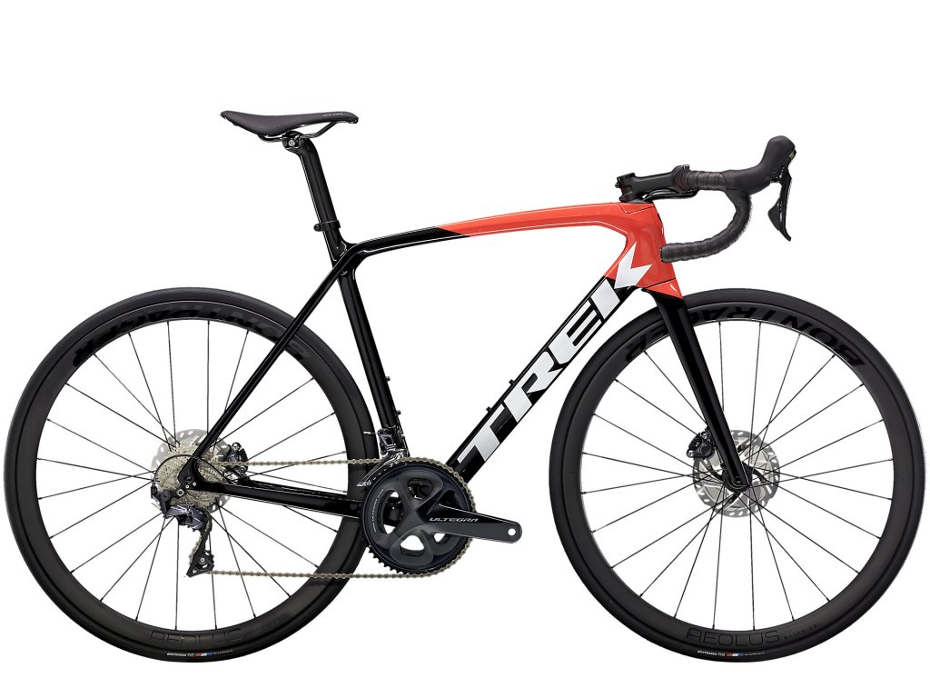 2021 TREK ÉMONDA SL 6 PRO TREK BLACK/RADIOACTIVE RED