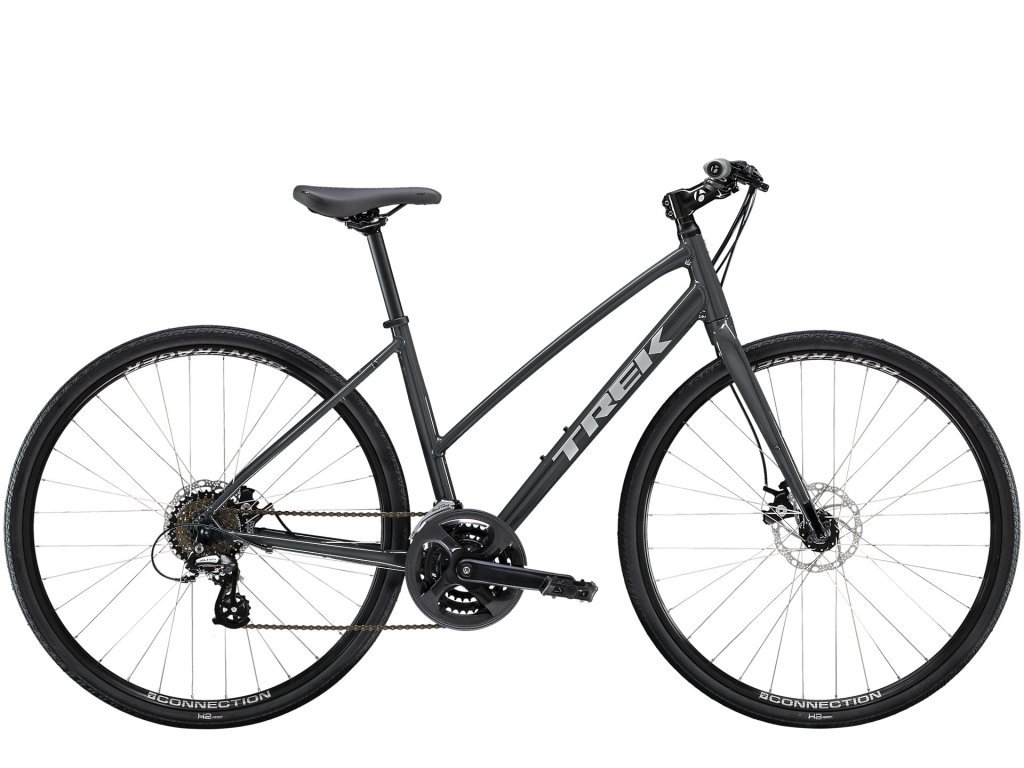 2021 TREK FX 1 STAGGER DISC SOLID CHARCOAL